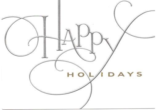 Happy Holidays: Lethal Rhythms