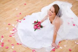 Bride Sitting on Dance Floor: Lethal Rhythms
