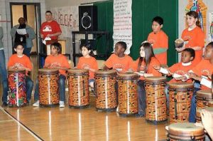 Students at Arnold Mill Elememtary- Lethal Rhythms
