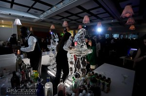 Ice Sculpture Cocktails- Atlanta Botanical Gardens- Graceology Photography- Lethal Rhythms