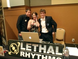 Lethal Rhythms DJ Michael Boyle at PWG Bridal Show