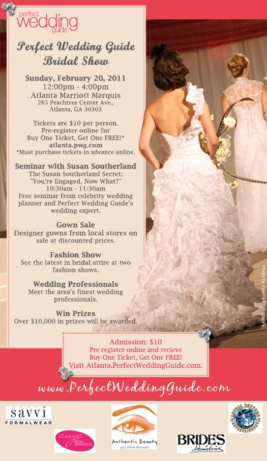 Perfect Wedding Guide.Visit Us At The Perfect Wedding Guide Bridal Show Lethal