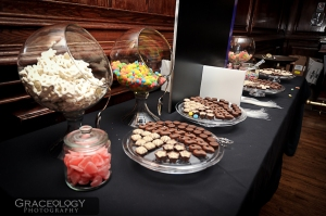 Tasty Pastry Candy Bar at Matthew's Mitzvah