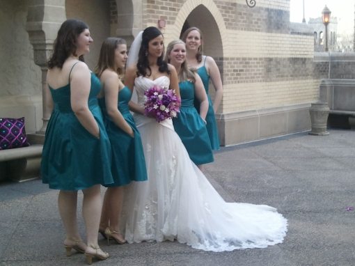 Jenna Kay and her brides maids- Lethal Rhythms- The Fox Theatre