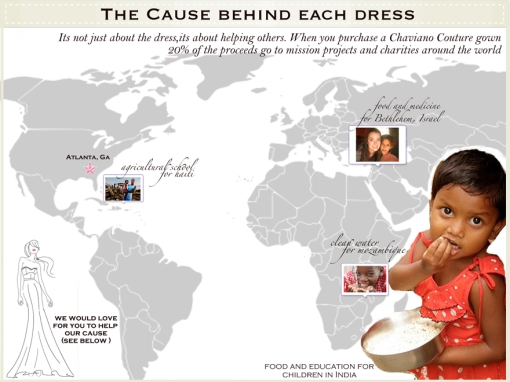 The Cause Behind Each Dress- Chaviano Couture