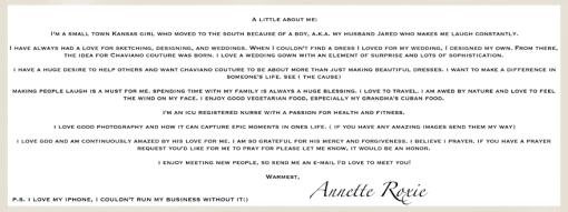 Annette Roxie Bio