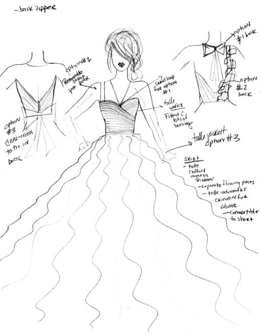 Annette Sketch 1